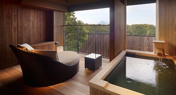 山紫水明 温泉露天風呂