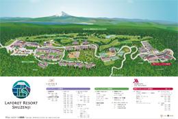 ラフォーレリゾート修善寺地図